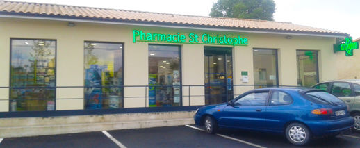 Pharmacie Saint Christophe, SAINT CHRISTOLY DE BLAYE