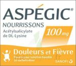 ASPEGIC NOURRISSONS 100 mg, poudre pour solution buvable en sachet-dose à SAINT CHRISTOLY DE BLAYE