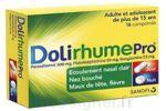 DOLIRHUMEPRO PARACETAMOL, PSEUDOEPHEDRINE ET DOXYLAMINE, comprimé à SAINT CHRISTOLY DE BLAYE