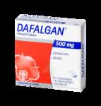 DAFALGAN 500 mg, comprimé effervescent sécable à SAINT CHRISTOLY DE BLAYE