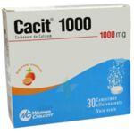 CACIT 1000 mg, comprimé effervescent à SAINT CHRISTOLY DE BLAYE