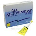 GEL RECTOPANBILINE, gel rectal à SAINT CHRISTOLY DE BLAYE