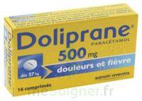 DOLIPRANE 500 mg Comprimés 2plq/8 (16) à SAINT CHRISTOLY DE BLAYE