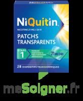 NIQUITIN 21 mg/24 heures, dispositif transdermique Sach/28 à SAINT CHRISTOLY DE BLAYE