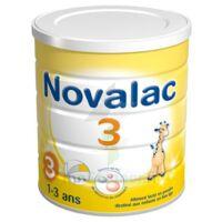 NOVALAC LAIT 3 BOITE 800G à SAINT CHRISTOLY DE BLAYE