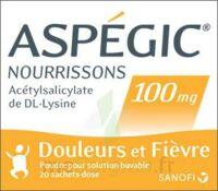 ASPEGIC NOURRISSONS 100 mg, poudre pour solution buvable en sachet-dose à SAINT CHRISTOLY DE BLAYE