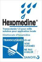 HEXOMEDINE TRANSCUTANEE 1,5 POUR MILLE, solution pour application locale à SAINT CHRISTOLY DE BLAYE