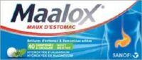 MAALOX HYDROXYDE D'ALUMINIUM/HYDROXYDE DE MAGNESIUM 400 mg/400 mg Cpr à croquer maux d'estomac Plq/40 à SAINT CHRISTOLY DE BLAYE