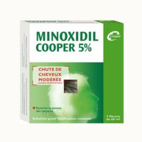MINOXIDIL COOPER 5 %, solution pour application cutanée à SAINT CHRISTOLY DE BLAYE