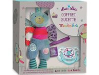 "Coffret Doudou + Sucette 0-6 mois""collection capsule Moulin Roty"" à SAINT CHRISTOLY DE BLAYE"