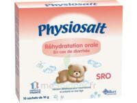 PHYSIOSALT REHYDRATATION ORALE SRO, bt 10 à SAINT CHRISTOLY DE BLAYE