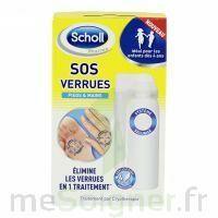 Scholl SOS Verrues traitement pieds et mains à SAINT CHRISTOLY DE BLAYE