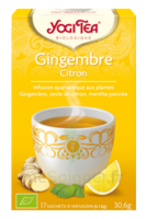 YOGI TEA GINGEMBRE CITRON à SAINT CHRISTOLY DE BLAYE