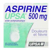 ASPIRINE UPSA 500 mg, comprimé effervescent à SAINT CHRISTOLY DE BLAYE