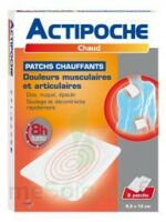 Actipoche Patch chauffant douleurs musculaires B/2 à SAINT CHRISTOLY DE BLAYE