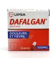 DAFALGAN 500 mg Gélules 2plq/8 (16) à SAINT CHRISTOLY DE BLAYE