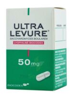ULTRA-LEVURE 50 mg Gél Fl/50 à SAINT CHRISTOLY DE BLAYE