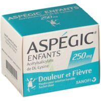 ASPEGIC ENFANTS 250, poudre pour solution buvable en sachet-dose à SAINT CHRISTOLY DE BLAYE